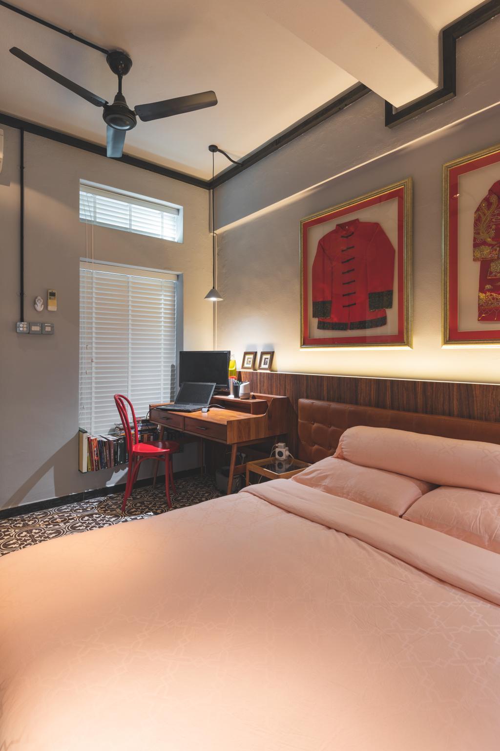Contemporary, HDB, Bedroom, Seng Poh Road, Interior Designer, Azcendant, Transitional