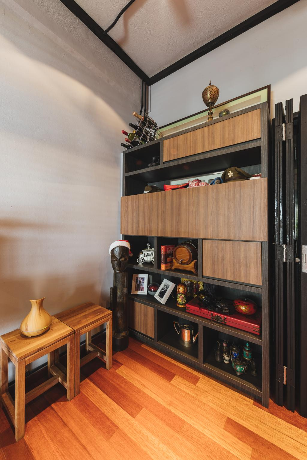 Contemporary, HDB, Seng Poh Road, Interior Designer, Azcendant, Transitional