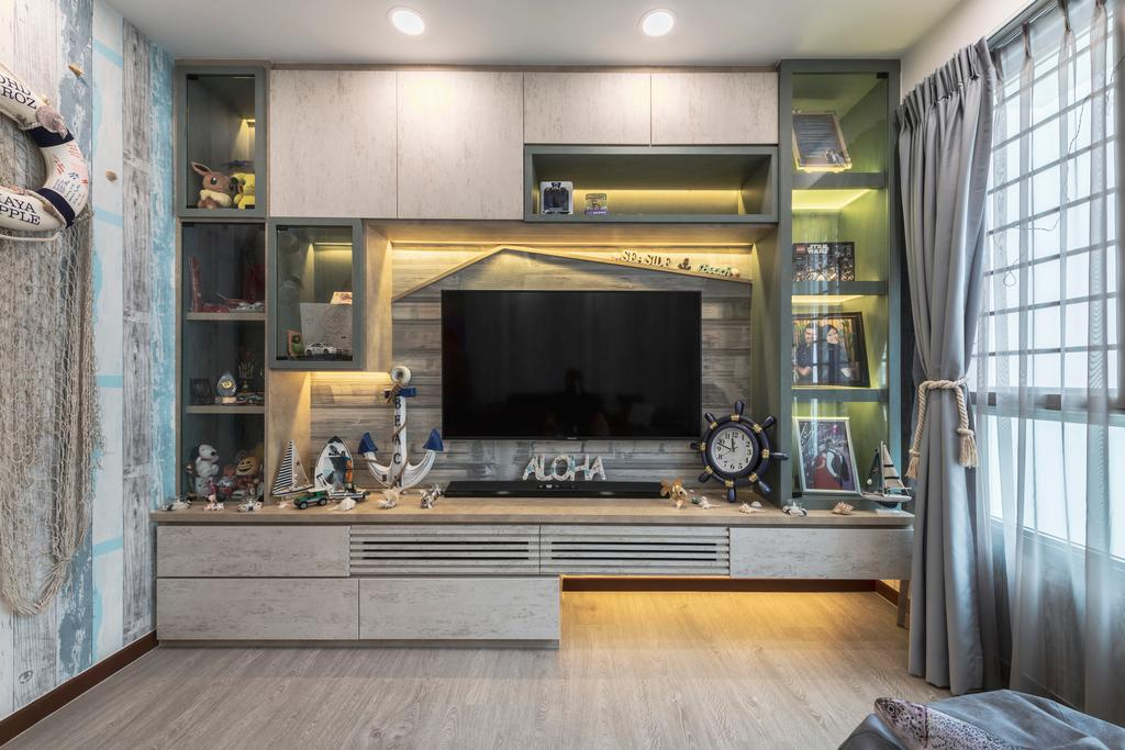 Eclectic, HDB, Sumang Lane, Interior Designer, Z House Interior Design
