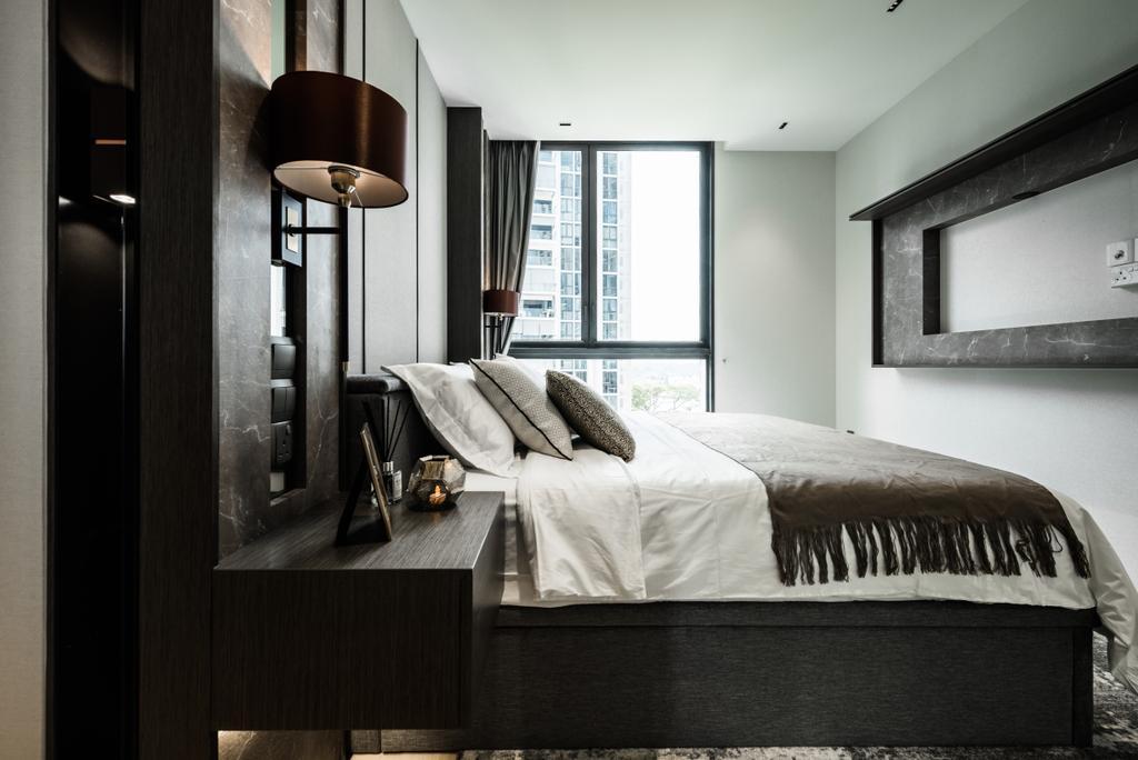 Modern, Condo, Bedroom, The Panaroma, Interior Designer, 19 Eighty Three, Contemporary