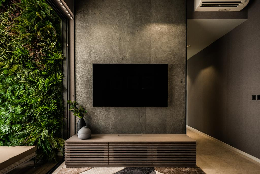Modern, Condo, Living Room, The Panaroma, Interior Designer, 19 Eighty Three, Contemporary