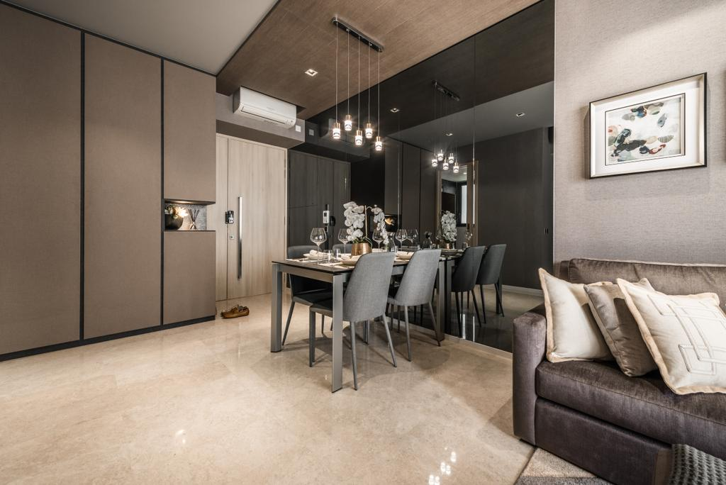 Modern, Condo, Dining Room, The Panaroma, Interior Designer, 19 Eighty Three, Contemporary