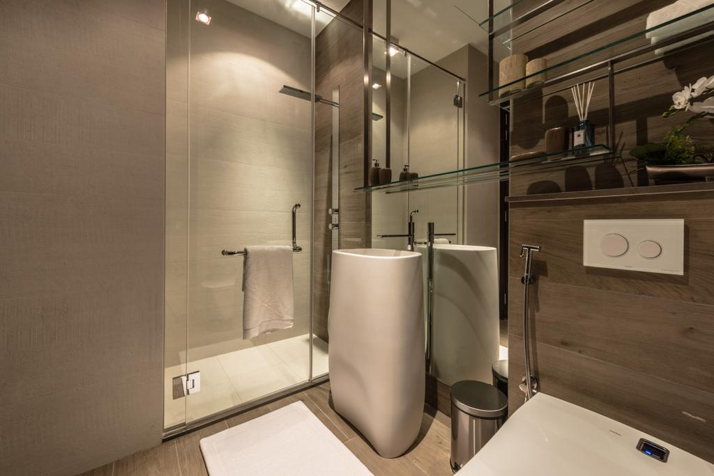 Transitional, Condo, Bathroom, The Siena, Interior Designer, 19 Eighty Three, Contemporary