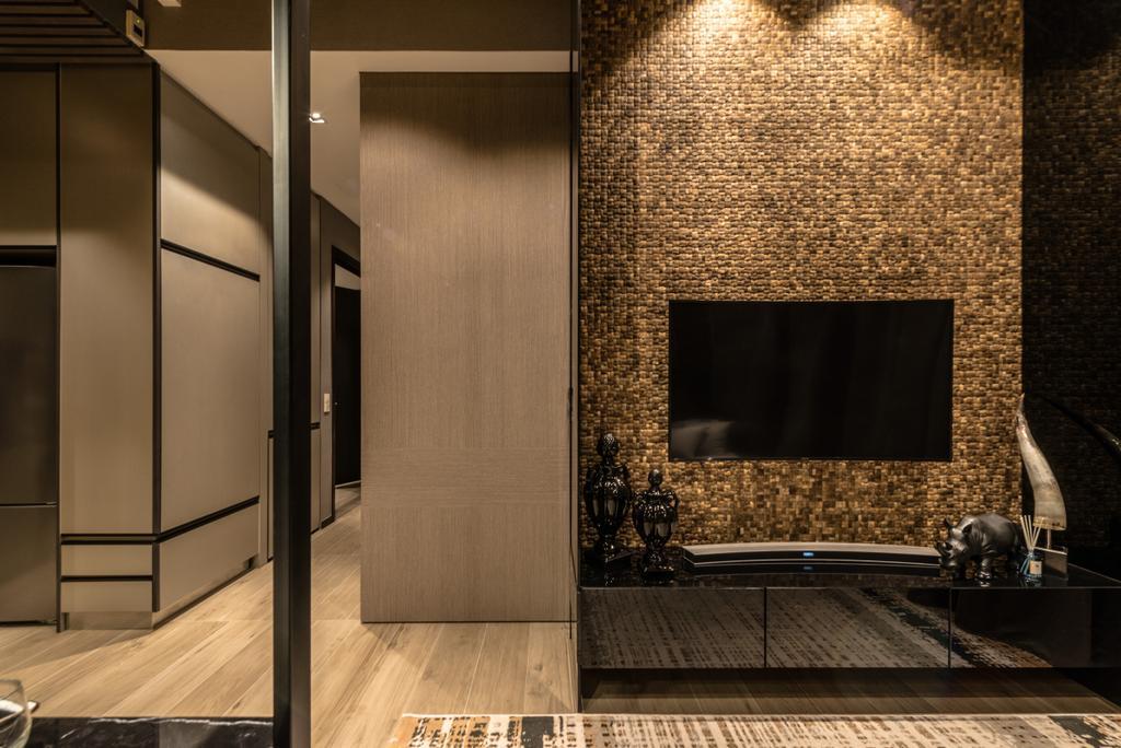 Transitional, Condo, Living Room, The Siena, Interior Designer, 19 Eighty Three, Contemporary