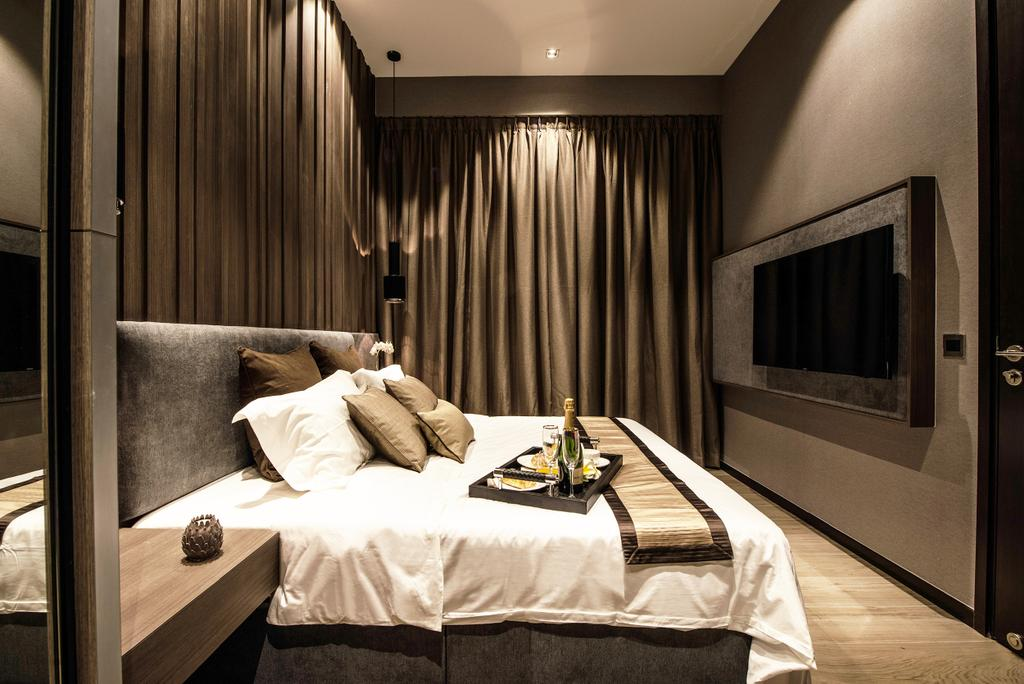Transitional, Condo, Bedroom, The Siena, Interior Designer, 19 Eighty Three, Contemporary