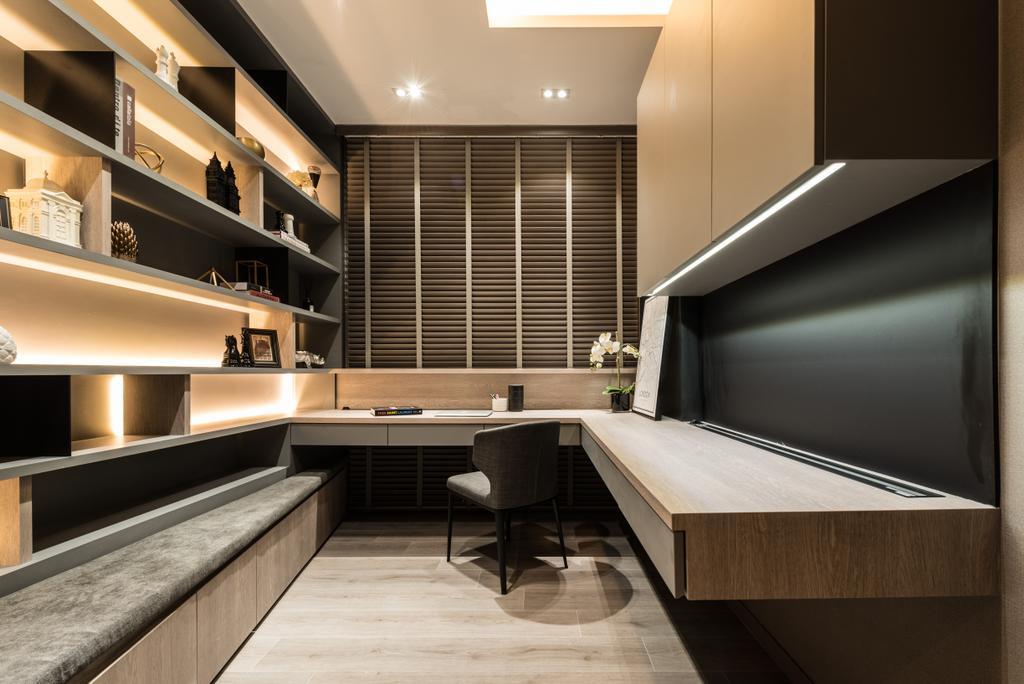 Transitional, Condo, Study, Jewel @ Buangkok, Interior Designer, 19 Eighty Three