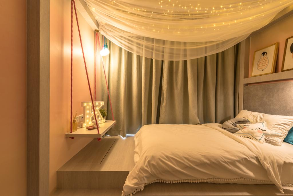 Transitional, Condo, Bedroom, Jewel @ Buangkok, Interior Designer, 19 Eighty Three