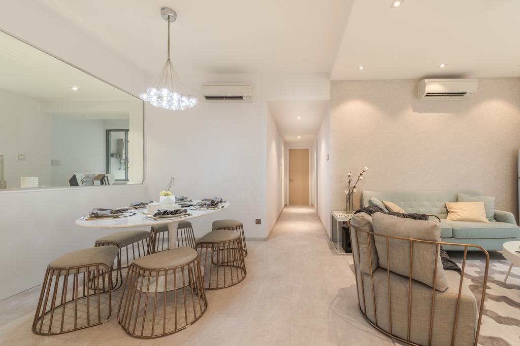 Scandinavian, Condo, Living Room, The Florida, Interior Designer, 19 Eighty Three