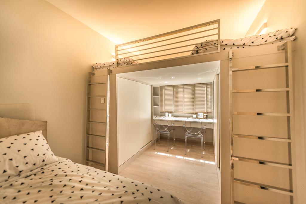 Scandinavian, Condo, Bedroom, The Florida, Interior Designer, 19 Eighty Three
