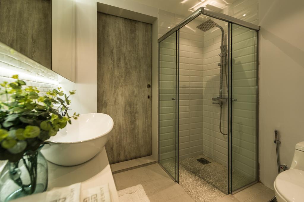 Scandinavian, Condo, Bathroom, The Florida, Interior Designer, 19 Eighty Three