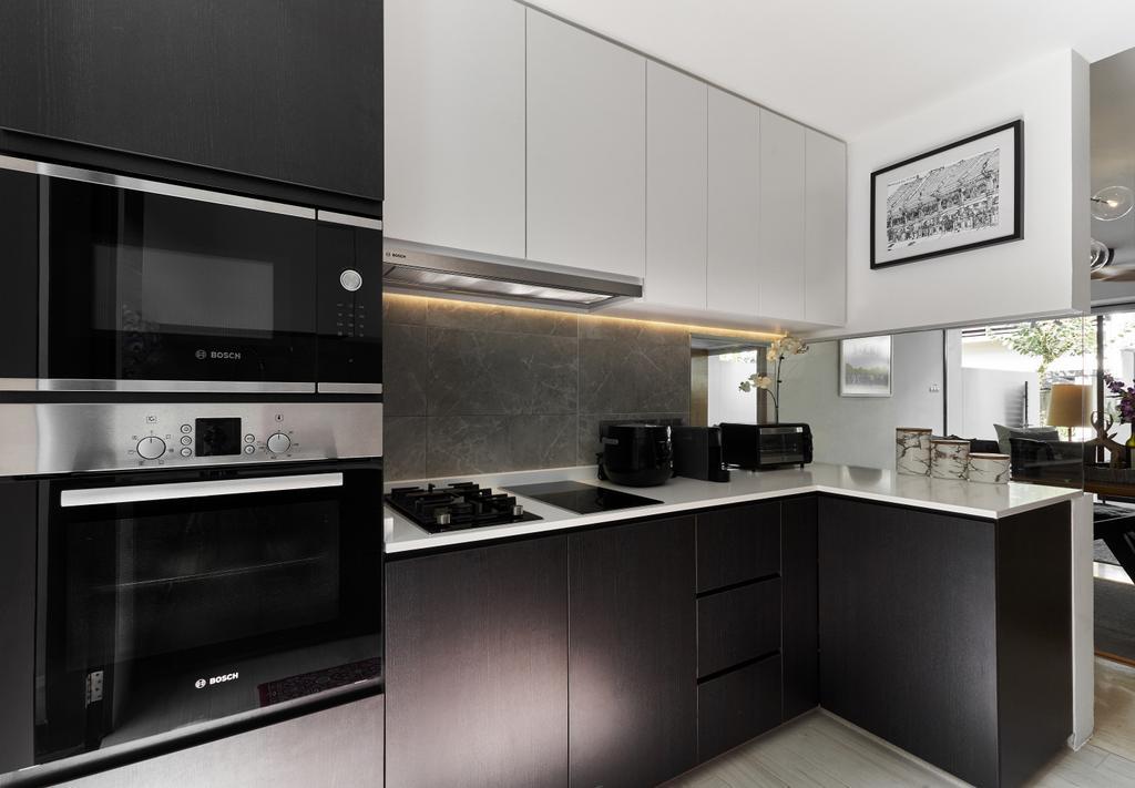 Contemporary, Landed, Kitchen, Barker Road, Interior Designer, Lemonfridge Studio