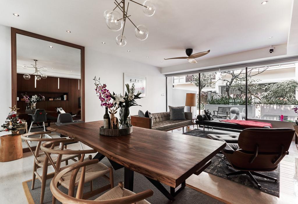 Contemporary, Landed, Dining Room, Barker Road, Interior Designer, Lemonfridge Studio