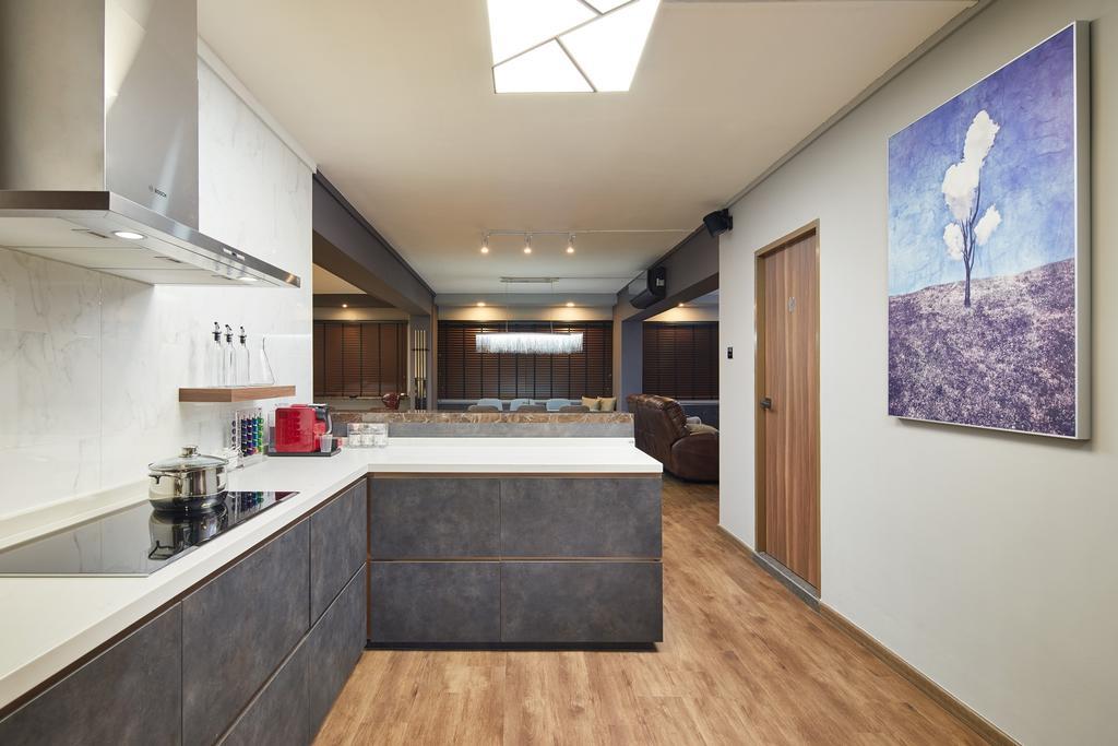 Contemporary, HDB, Kitchen, Gangsa Road, Interior Designer, The Local INN.terior 新家室