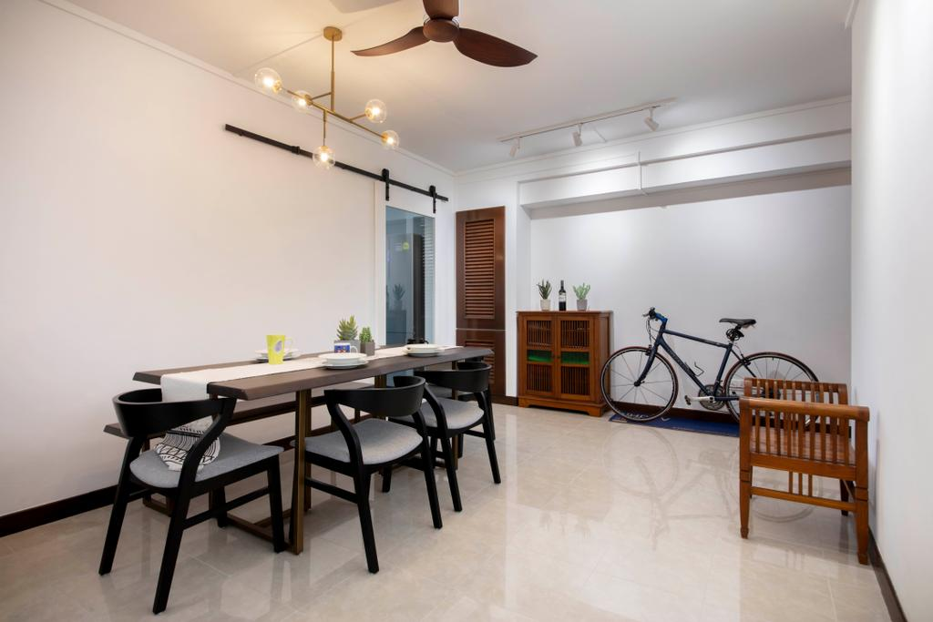 Contemporary, HDB, Dining Room, Fernvale Lane, Interior Designer, Style Living Interior