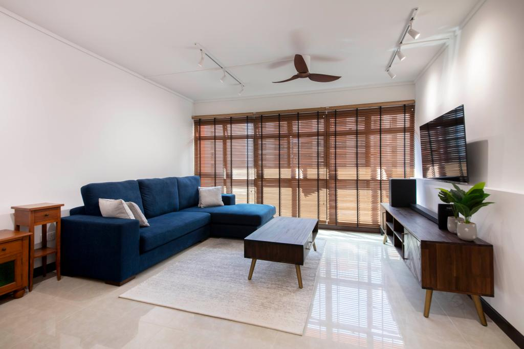 Contemporary, HDB, Living Room, Fernvale Lane, Interior Designer, Style Living Interior