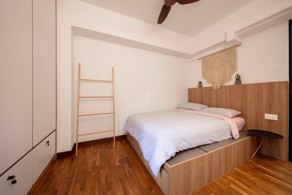 Contemporary, HDB, Bedroom, Fernvale Lane, Interior Designer, Style Living Interior