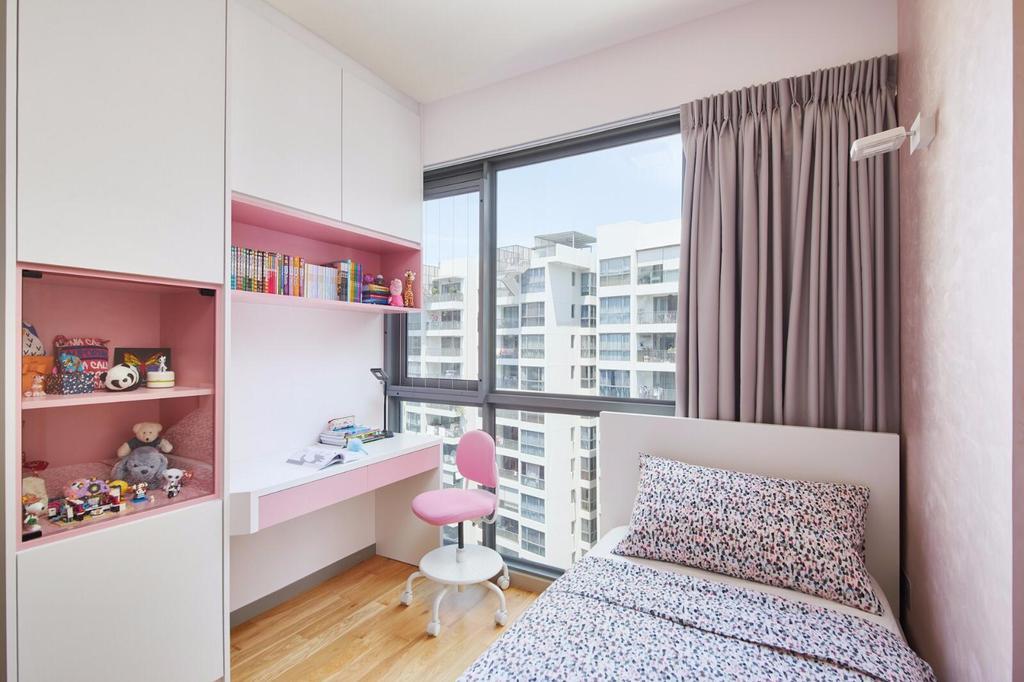 Contemporary, Condo, Bedroom, Riversails, Interior Designer, 96 Designers Group