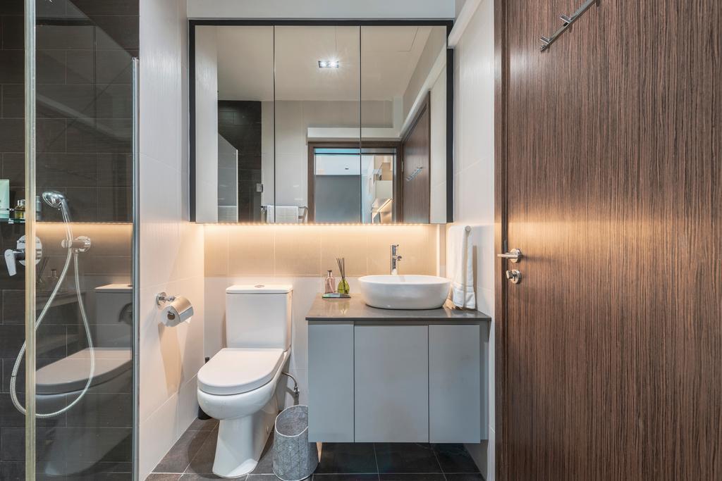 Contemporary, Condo, Bathroom, Parc Rosewood, Interior Designer, ARK-hitecture