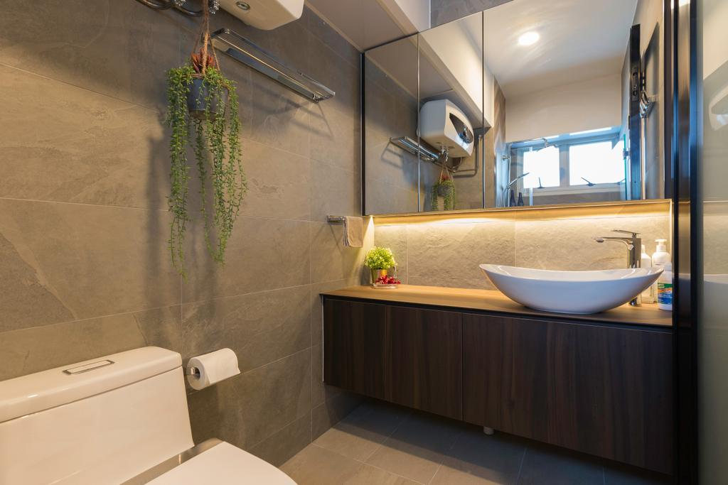 Contemporary, HDB, Bathroom, Bukit Batok Central, Interior Designer, Inizio Atelier