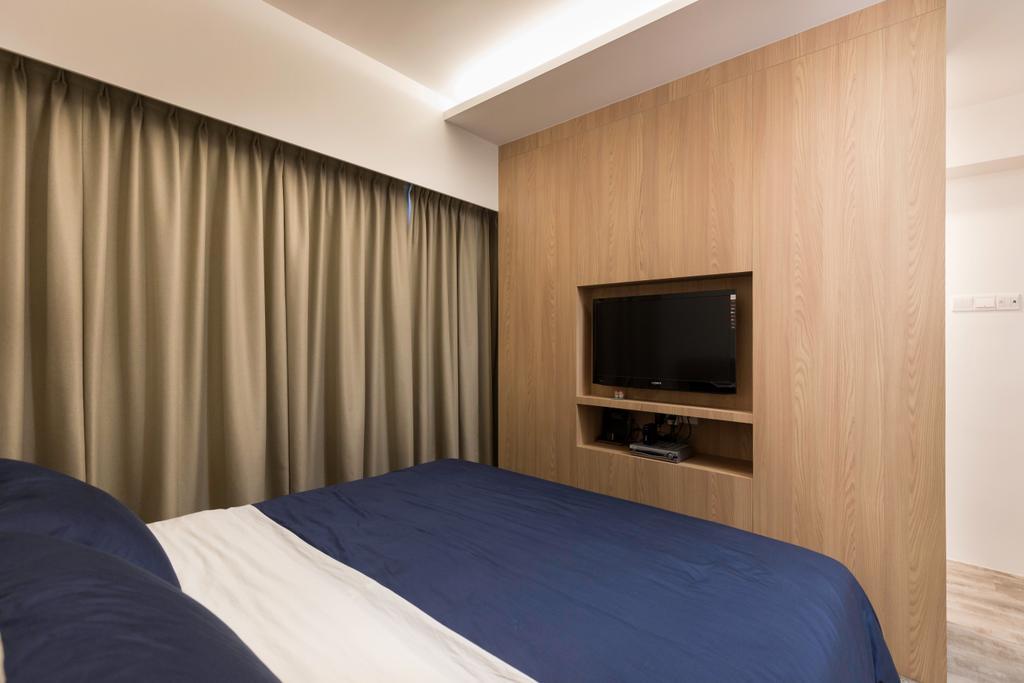 Contemporary, HDB, Bedroom, Bukit Batok Central, Interior Designer, Inizio Atelier