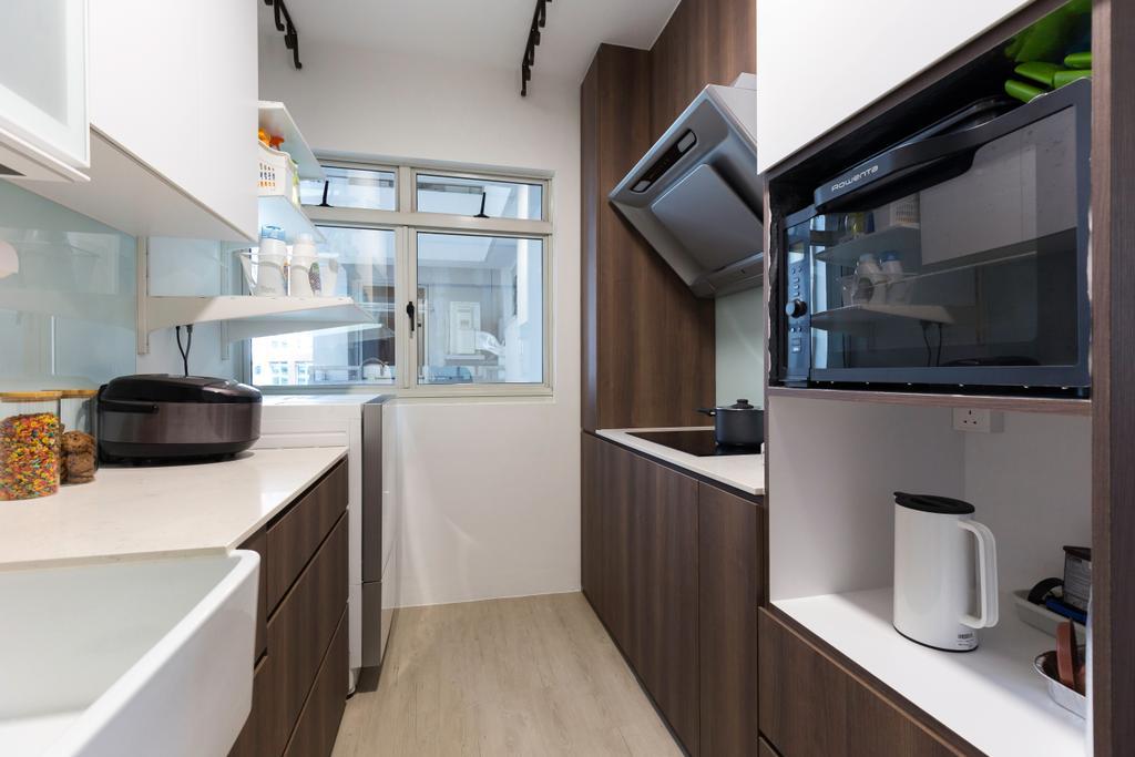 Contemporary, HDB, Kitchen, Bukit Batok Central, Interior Designer, Inizio Atelier