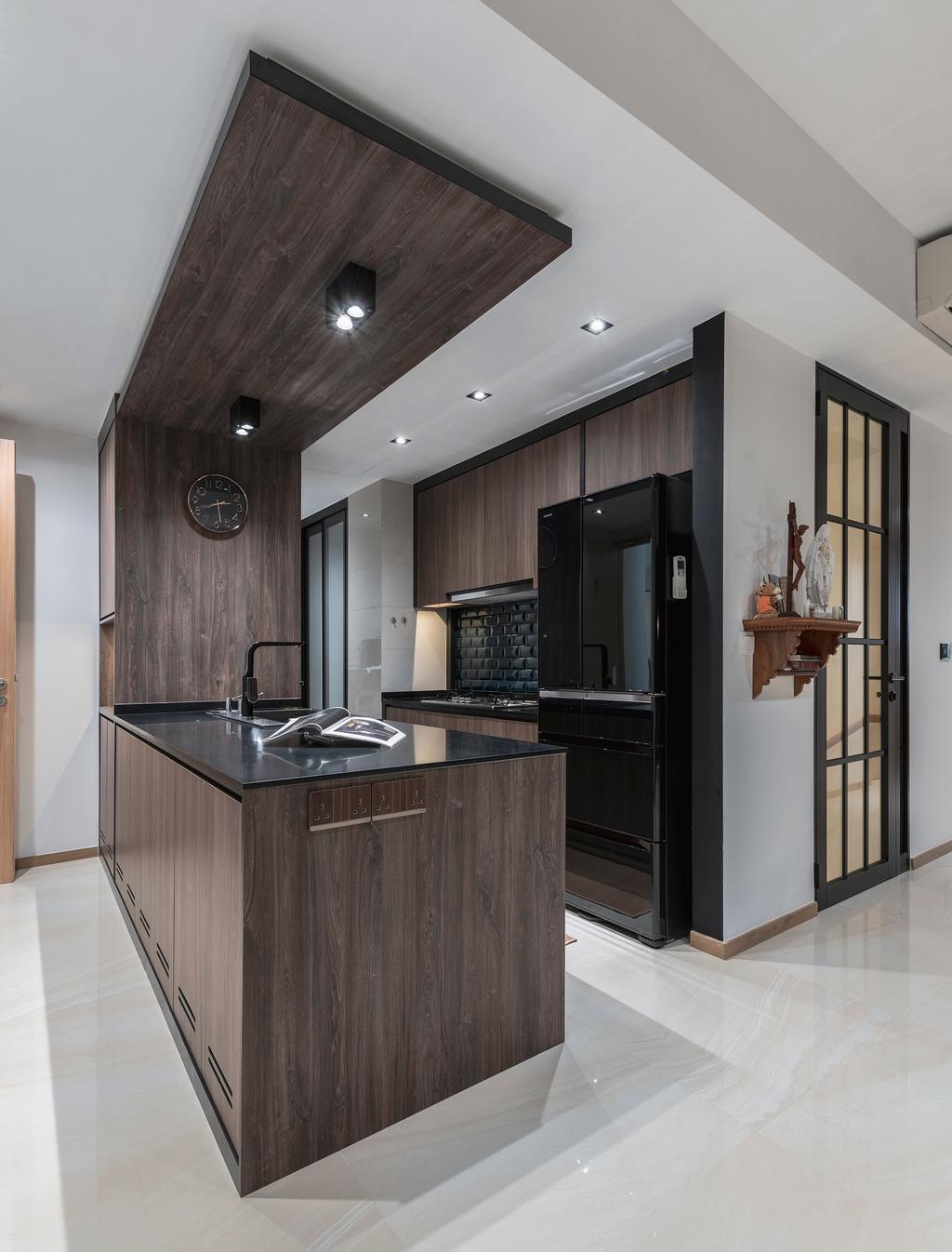Contemporary, Condo, Kitchen, The Vales, Interior Designer, ARK-hitecture