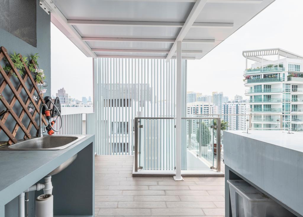 Contemporary, Condo, Balcony, The Mercury, Interior Designer, Colourbox Interior