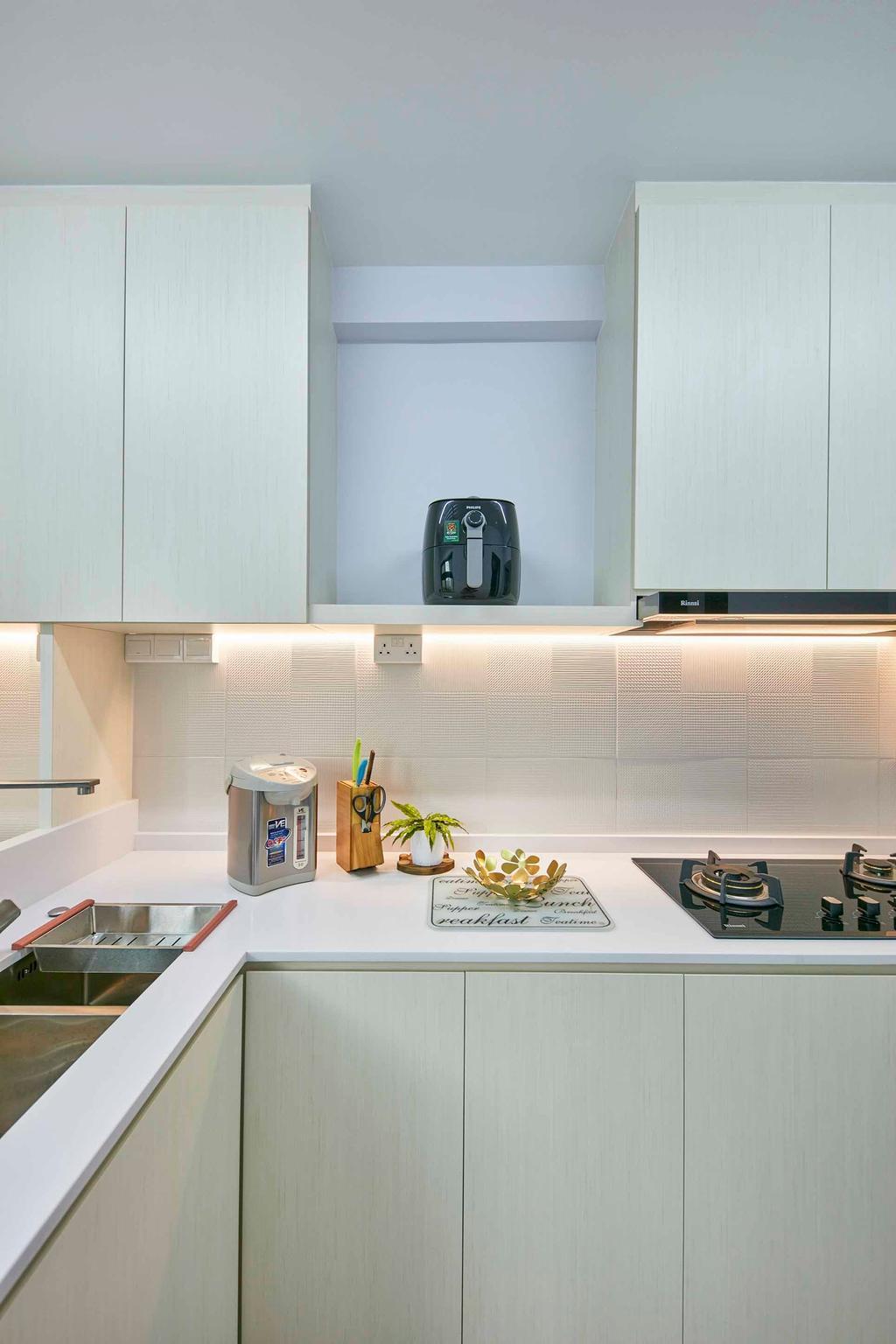 Contemporary, HDB, Kitchen, Cantonment Close, Interior Designer, The Interior Lab