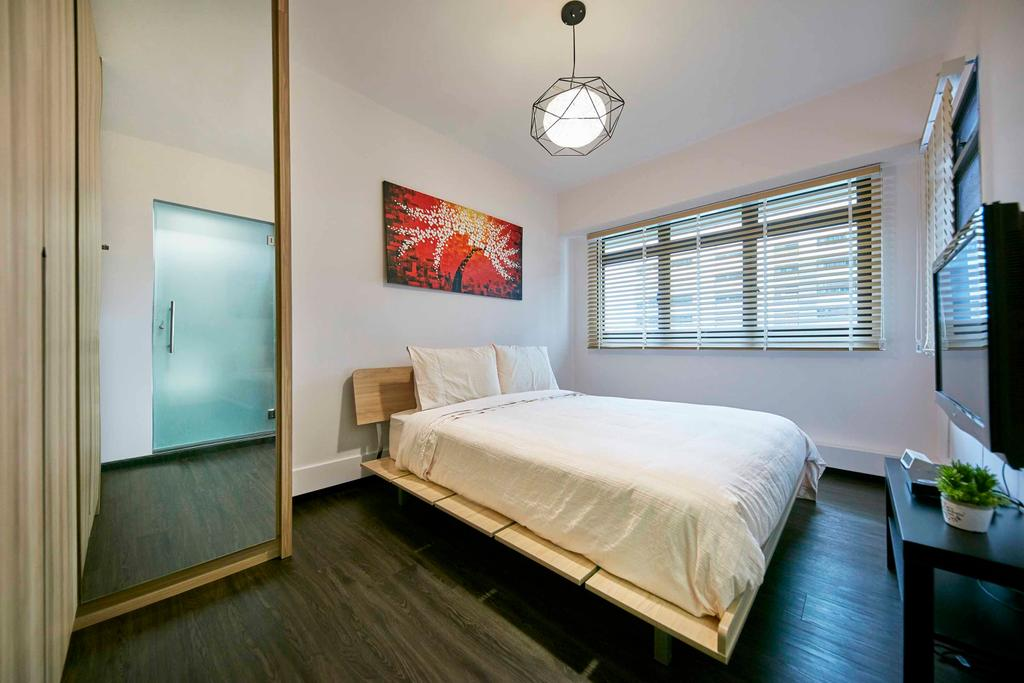 Contemporary, HDB, Bedroom, Cantonment Close, Interior Designer, The Interior Lab