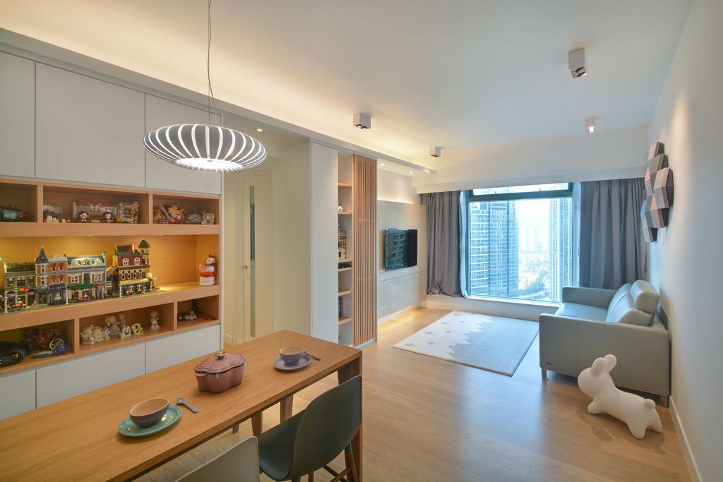 私家樓, 飯廳, 君臨天下, 室內設計師, Space Design