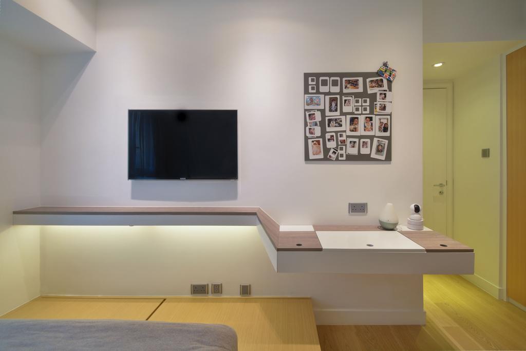 私家樓, 睡房, 君臨天下, 室內設計師, Space Design