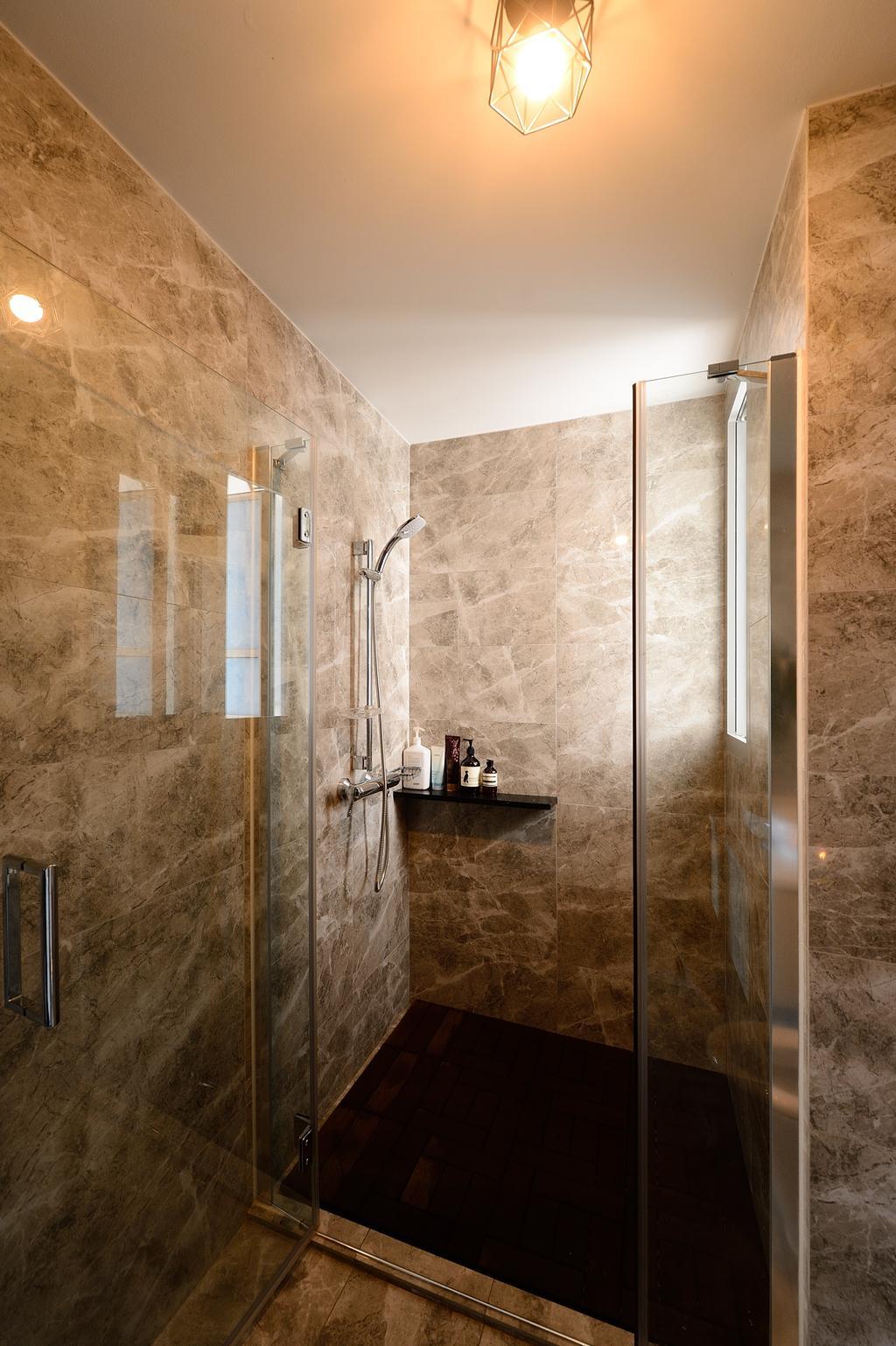 Contemporary, Condo, Bathroom, The Santorini, Interior Designer, M Squared Dezign