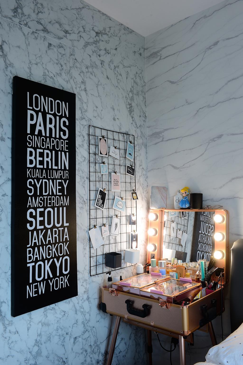 Contemporary, Condo, Bedroom, The Santorini, Interior Designer, M Squared Dezign