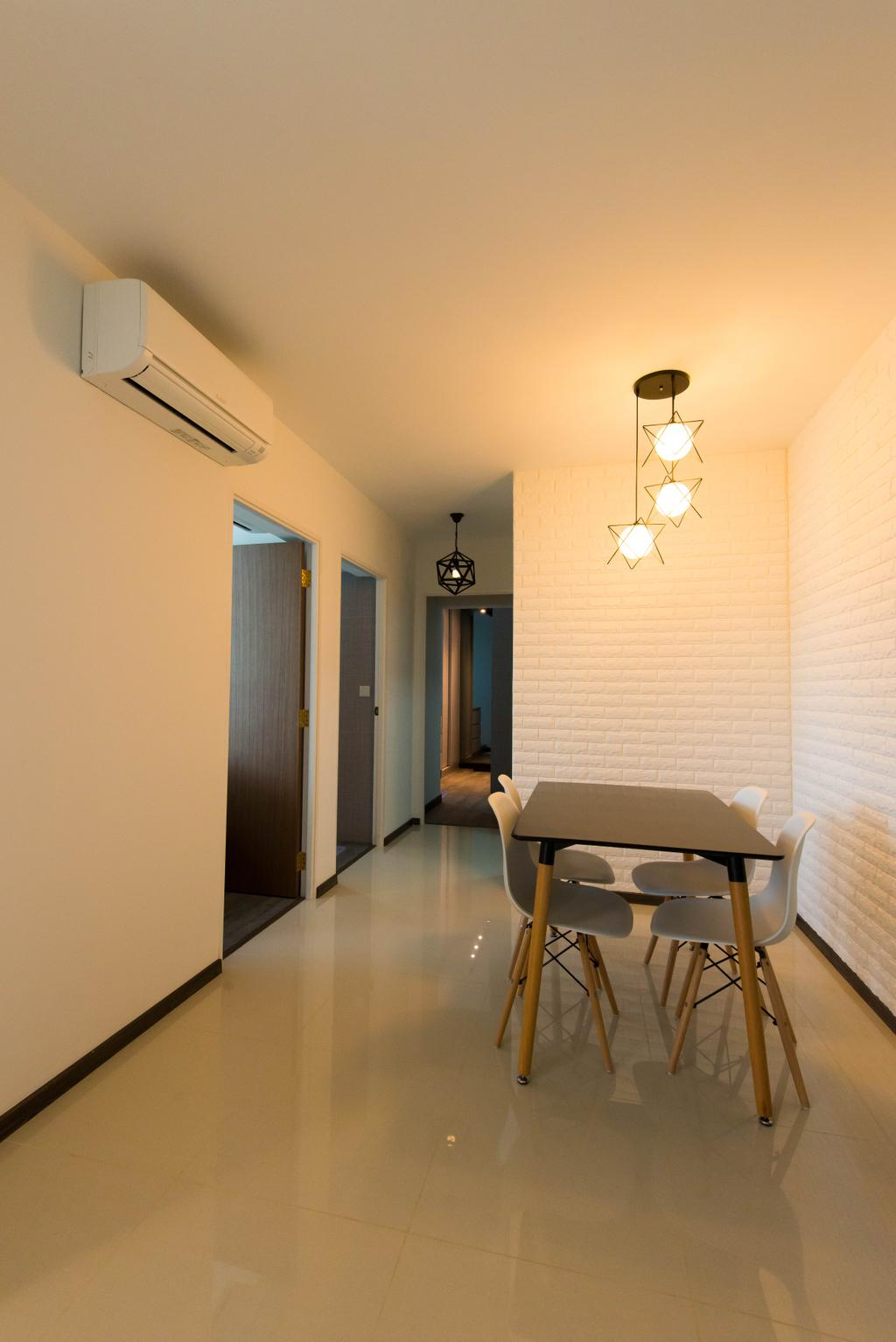 Contemporary, HDB, Dining Room, Punggol Way, Interior Designer, M Squared Dezign
