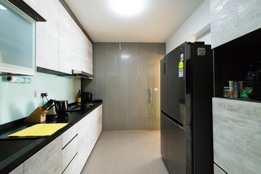 Contemporary, HDB, Kitchen, Punggol Way, Interior Designer, M Squared Dezign