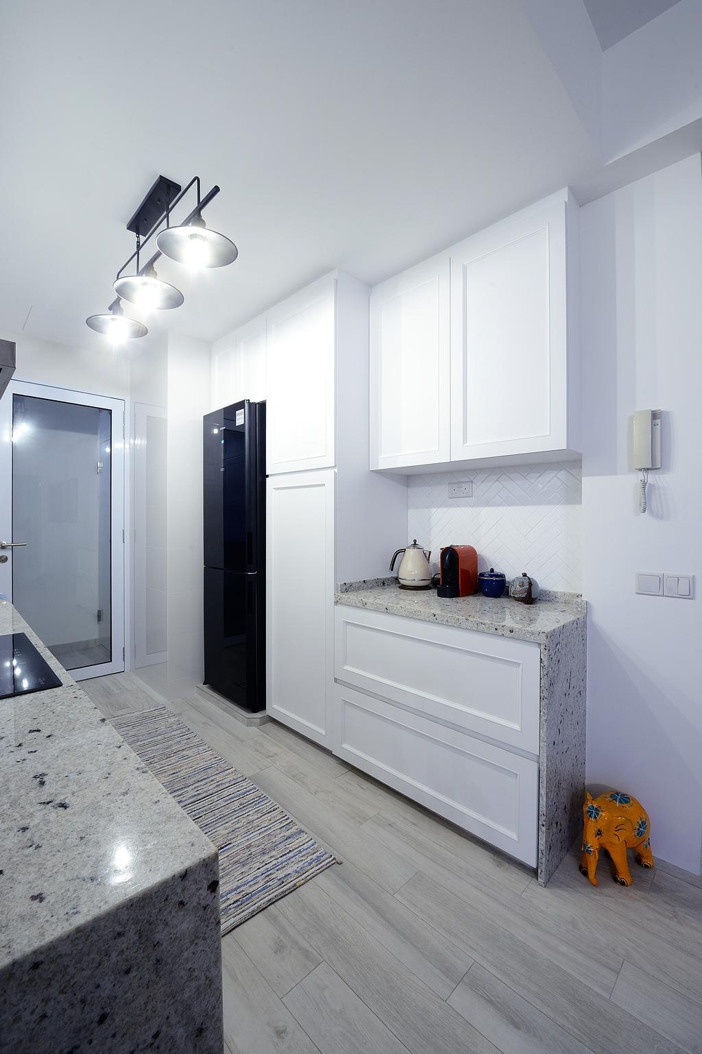 Contemporary, Condo, Kitchen, Riveredge, Interior Designer, M Squared Dezign, Modern