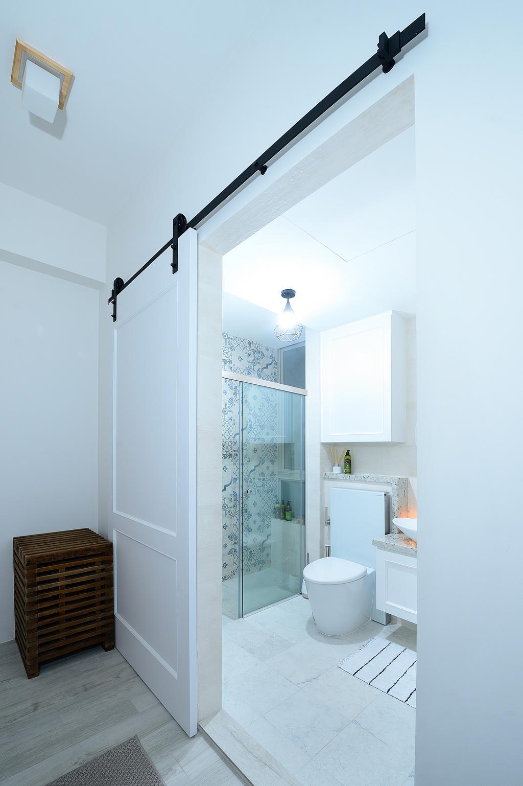 Contemporary, Condo, Bathroom, Riveredge, Interior Designer, M Squared Dezign, Modern