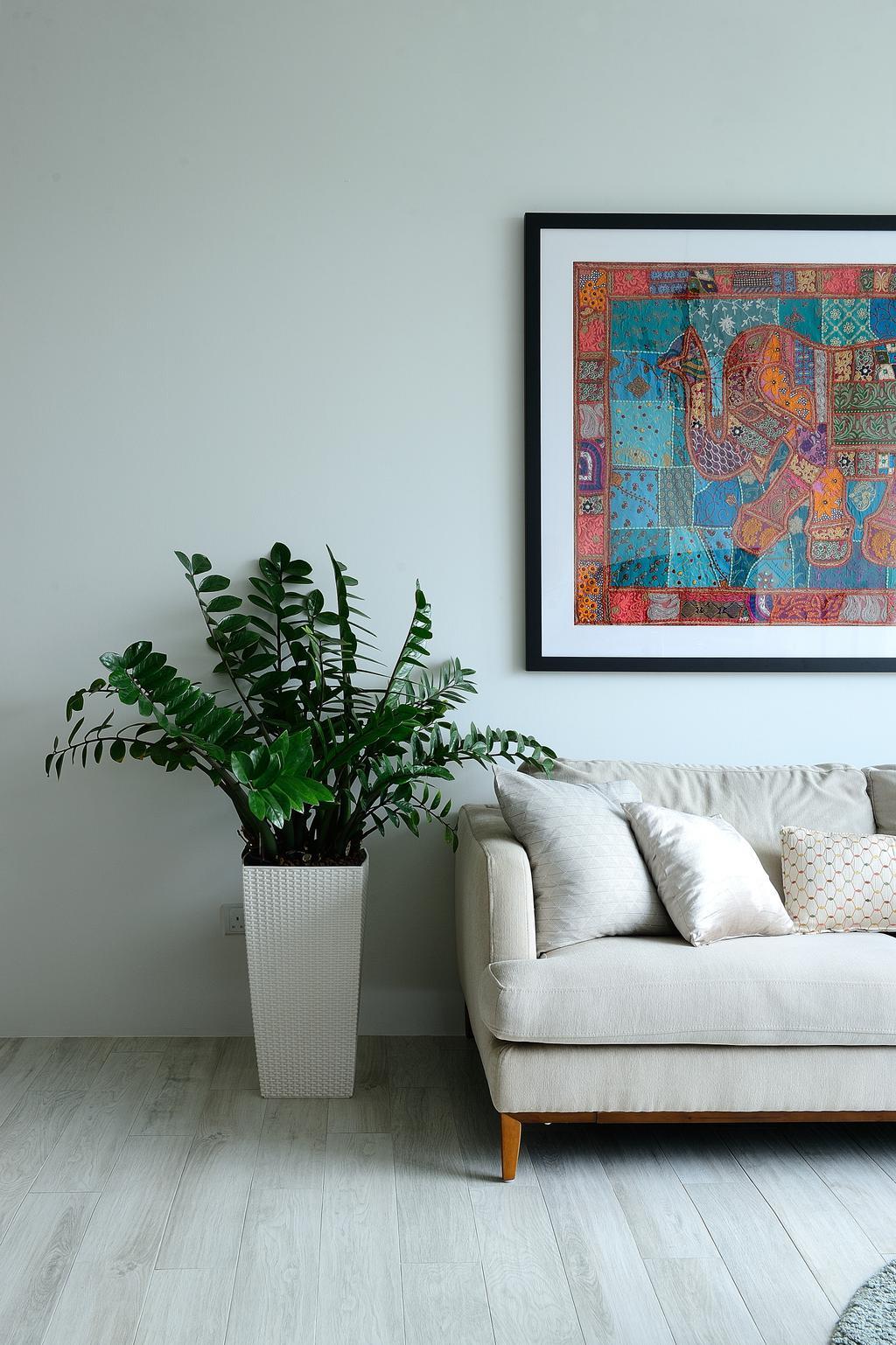 Contemporary, Condo, Living Room, Riveredge, Interior Designer, M Squared Dezign, Modern