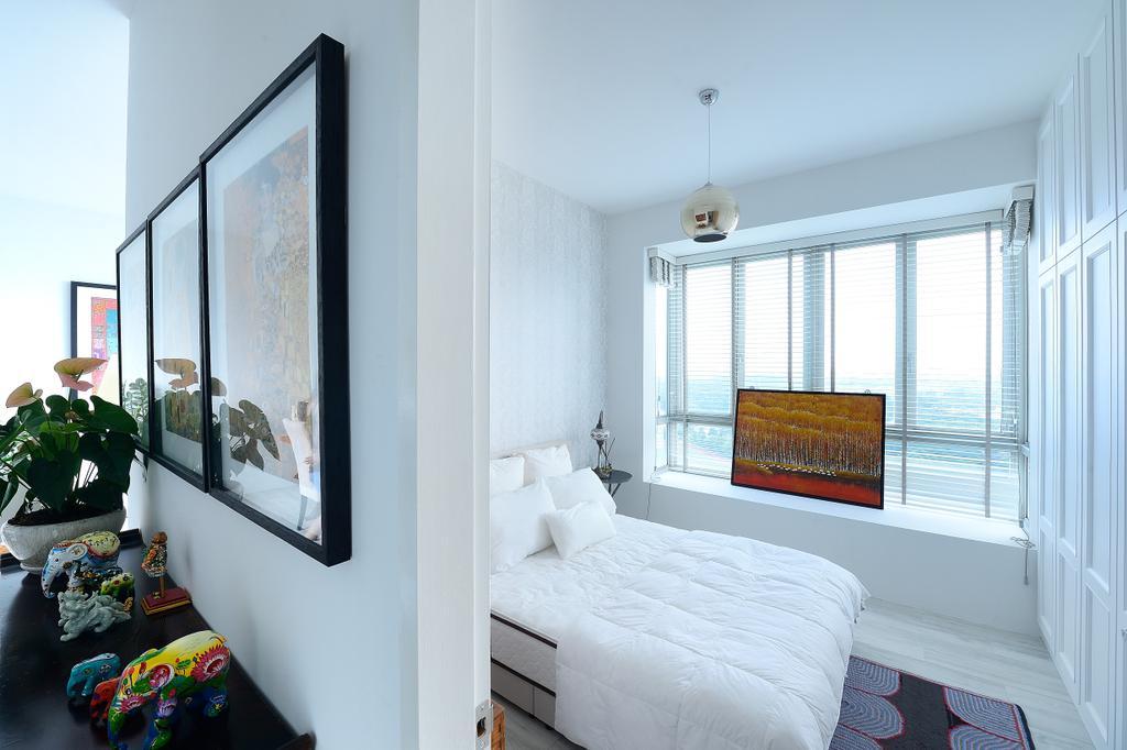 Contemporary, Condo, Bedroom, Riveredge, Interior Designer, M Squared Dezign, Modern