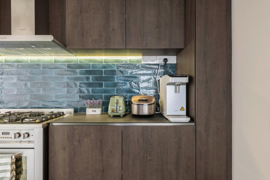 Contemporary, HDB, Kitchen, Bukit Batok East Avenue 6, Interior Designer, Voila