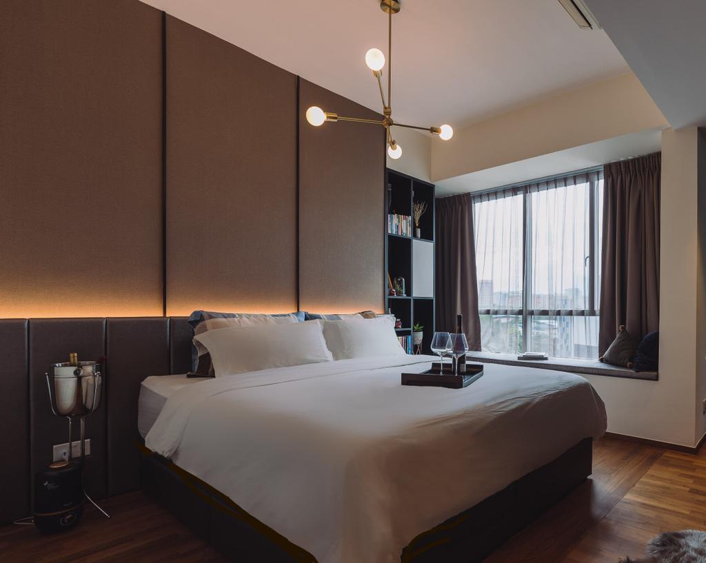 Contemporary, Condo, Bedroom, Domain 21, Interior Designer, Artmuse Interior, Modern