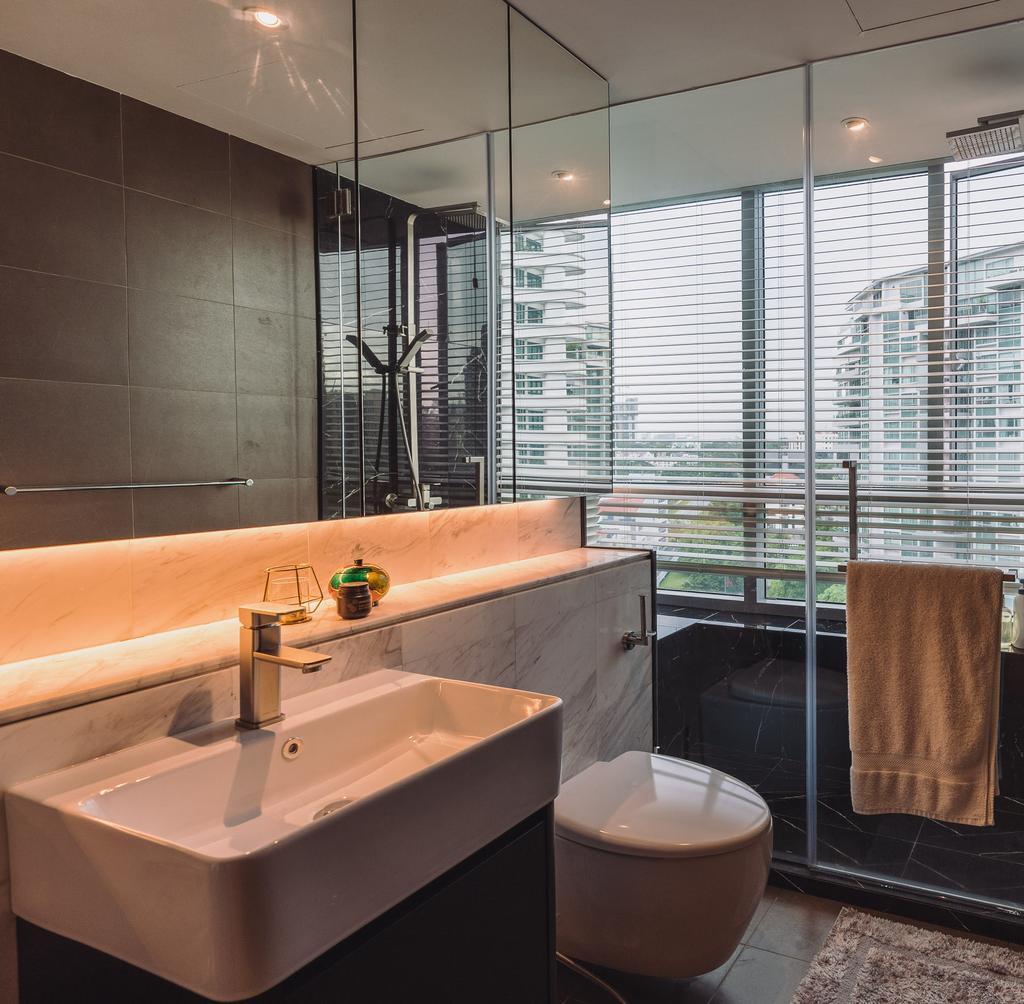 Contemporary, Condo, Bathroom, Domain 21, Interior Designer, Artmuse Interior, Modern