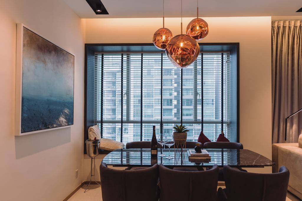 Contemporary, Condo, Dining Room, Domain 21, Interior Designer, Artmuse Interior, Modern