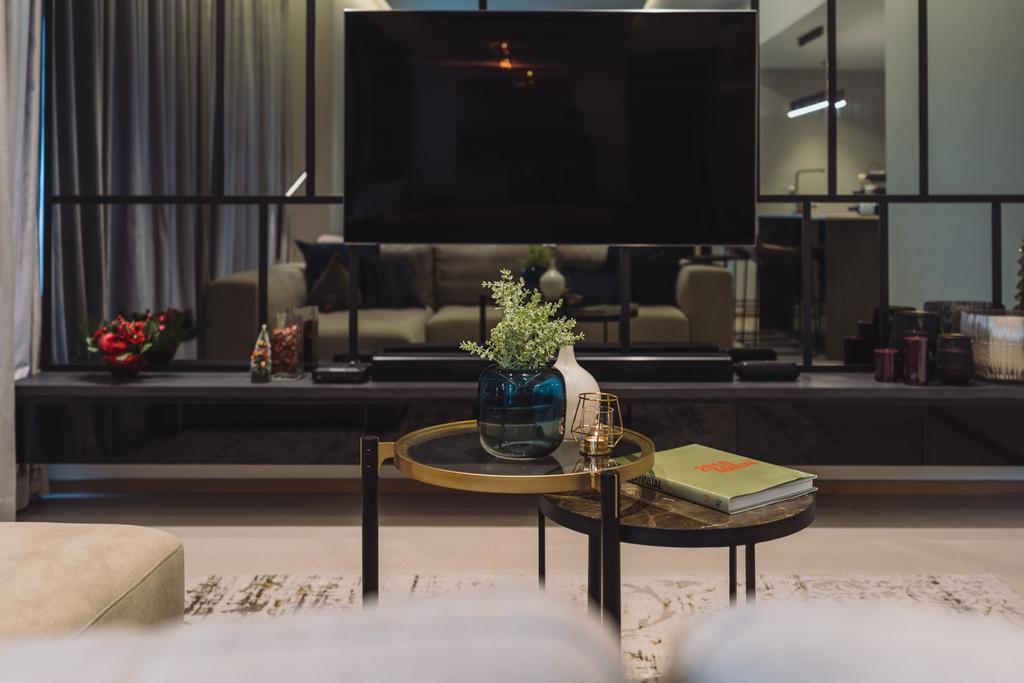 Contemporary, Condo, Living Room, Domain 21, Interior Designer, Artmuse Interior, Modern