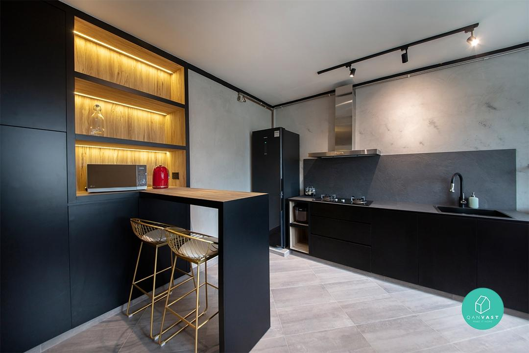 Spacious Resale HDB Flat in Sengkang Designed by ARK-hitecture