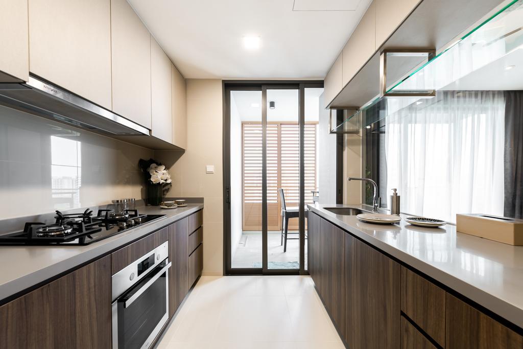 Contemporary, Condo, Kitchen, Parc Life, Interior Designer, 19 Eighty Three, Modern