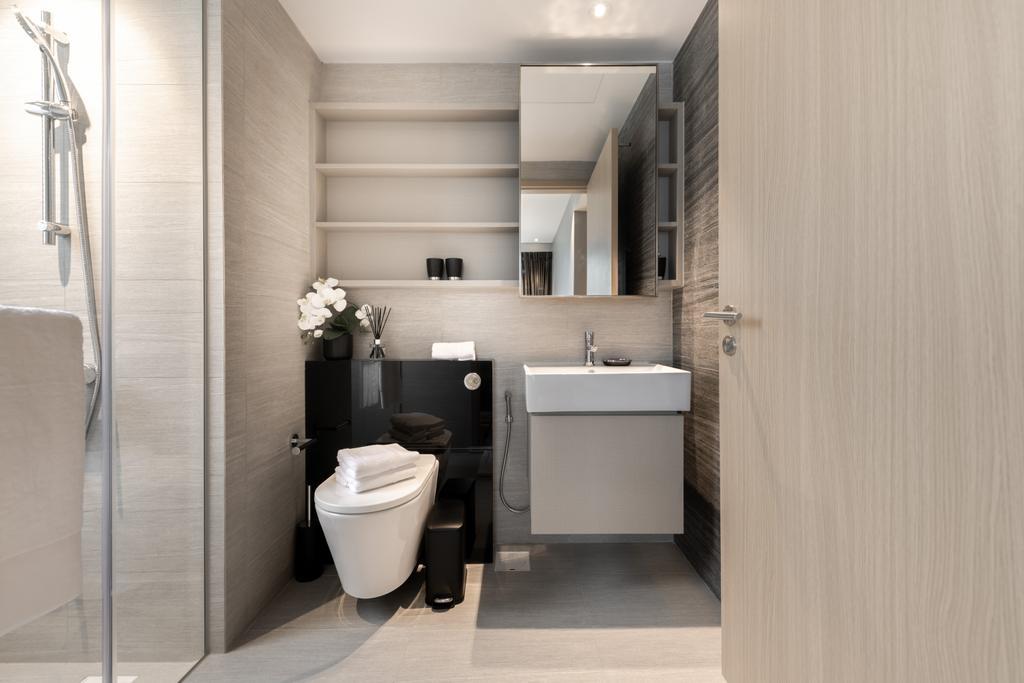 Contemporary, Condo, Bathroom, Parc Life, Interior Designer, 19 Eighty Three, Modern