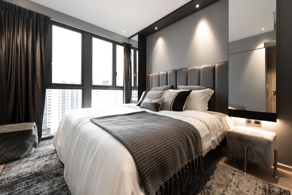 Contemporary, Condo, Bedroom, Parc Life, Interior Designer, 19 Eighty Three, Modern