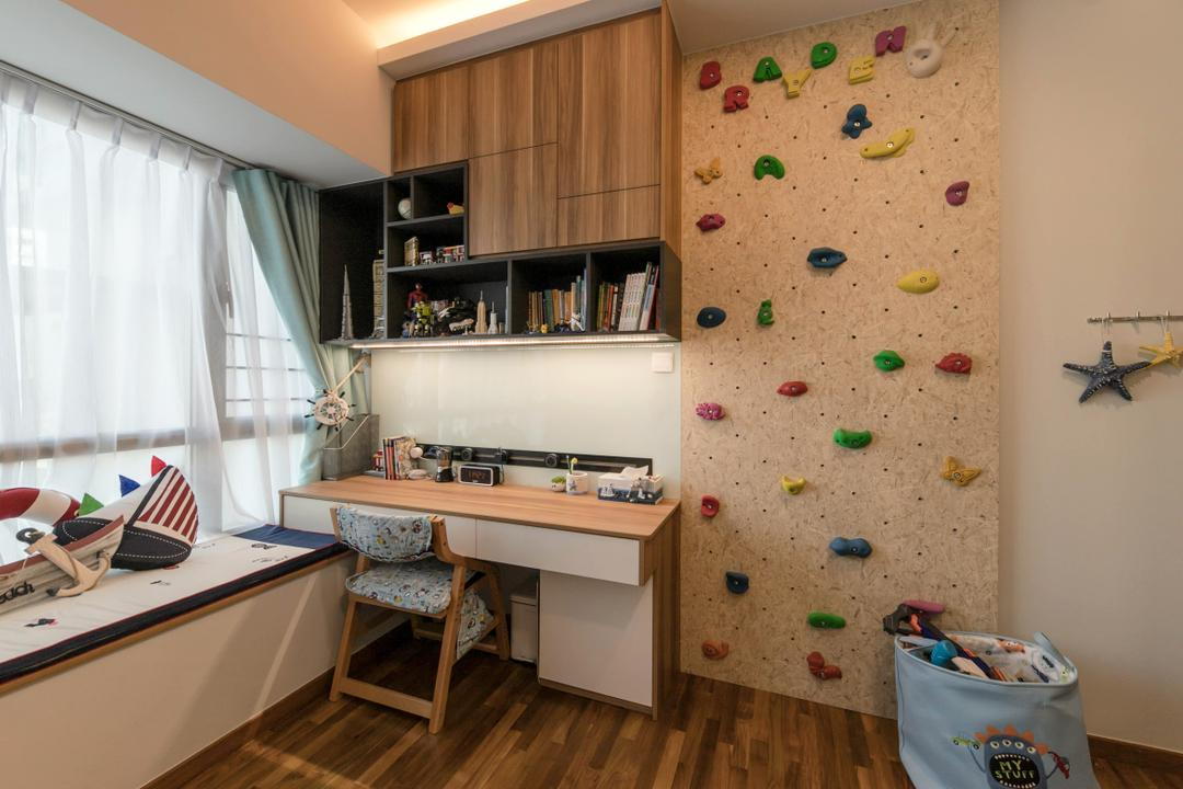 Trevista, Space Atelier, Bedroom, Condo, Rock Climbing Wall, Gym, Exercise, Fitness, Sports, Kids Room, Kids Room