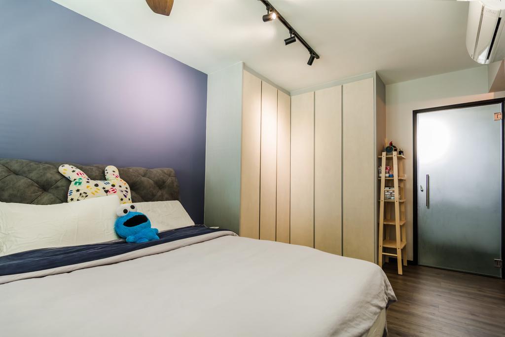 Contemporary, HDB, Bedroom, Yishun Avenue 4, Interior Designer, Dap Atelier